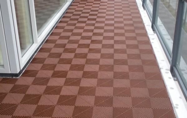 Balkontegel Terracotta