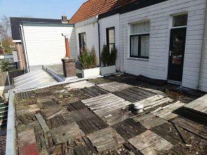 dakterras voor renovatie