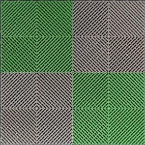 Mix Ribdeck Groen en Grijs