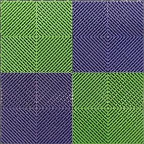 Mix Ribdeck Donkerblauw en Groen