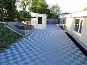 Kunststof Ribdeck terrasvloer