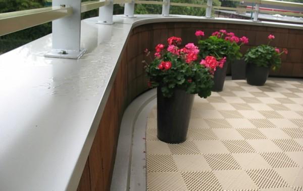Balkontegel Creme